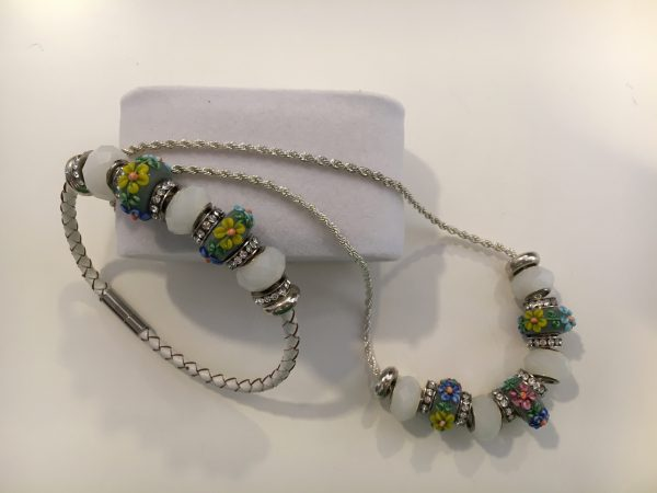 Swarovski bracelet & necklace 1
