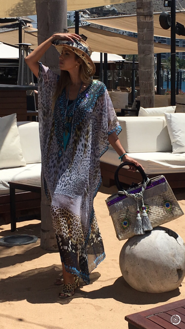 Kaftan dress´Monterey´ 4