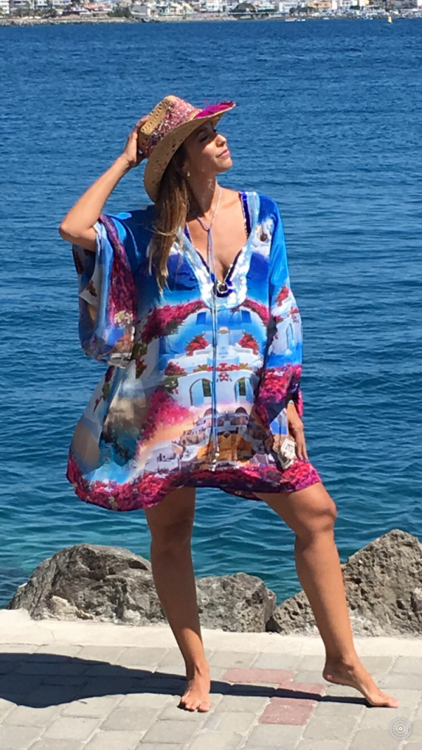 Designed´Santorini´silk tunic 3
