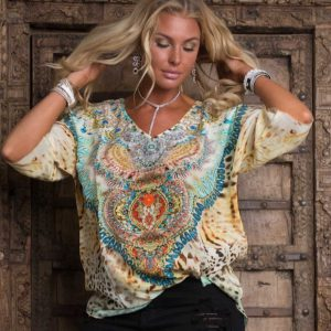 Sun silk top ´Ellie´ 5