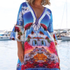 Designed´Santorini´silk dress 3