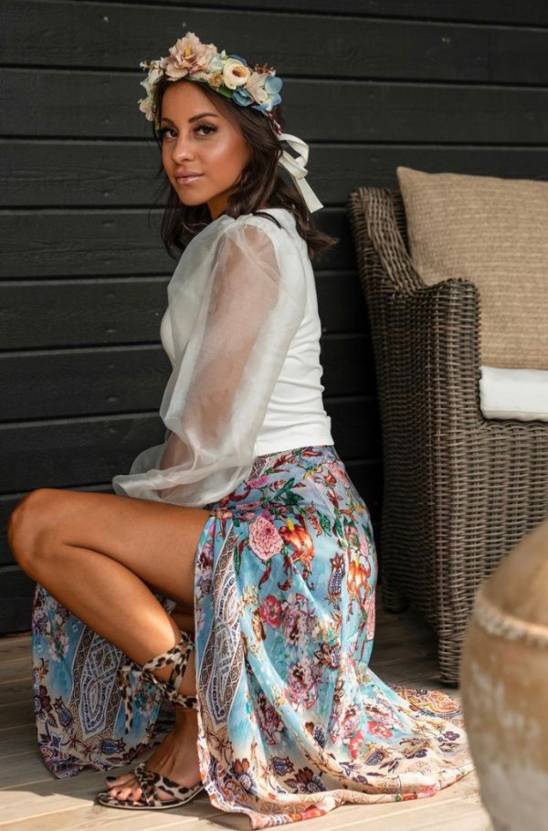 Wrap skirt ´Heaven´ 3