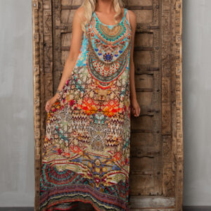 Silk´Strap´maxi dress Arizona 6