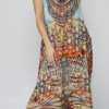 Silk´Flowing´maxi dress Arizona 1