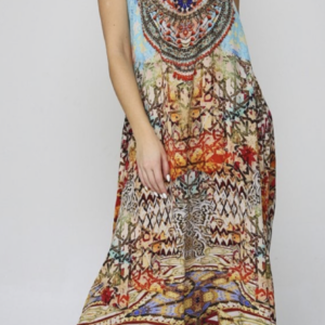 Silk´Flowing´maxi dress Arizona 7