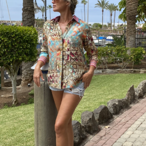 Silk ´Collar shirt´Arizona 7