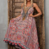 Silk´Flowing´maxi dress Aleppo 4