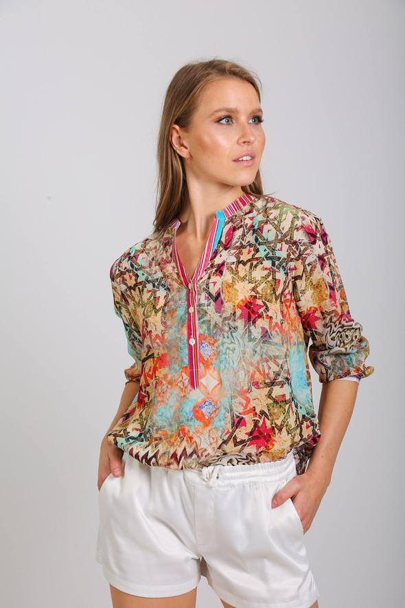 Silk ´Milano shirt´Arizona 4
