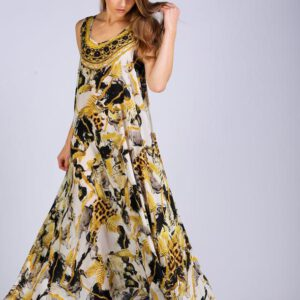 Silk ´Flowing´maxi dress Cairo 13