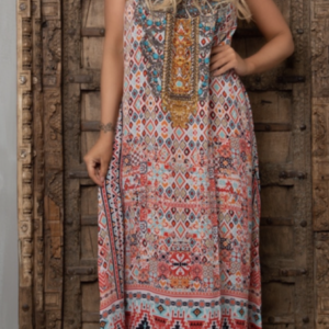 Silk´Flowing´maxi dress Aleppo 17