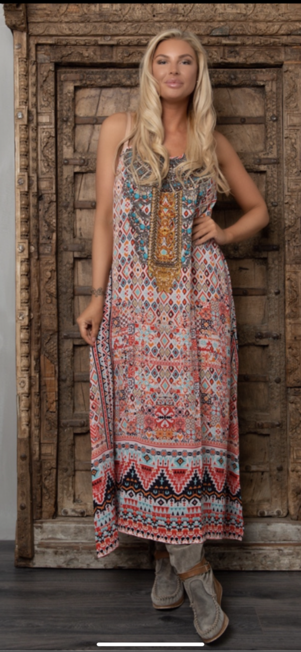 Silk´Flowing´maxi dress Aleppo 5