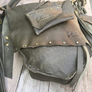 Handmade leather bag 7