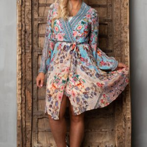 Short wrap dress ´Heaven´ 13