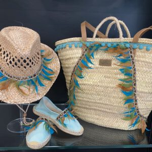 Handmade summer set ´blue´ 2
